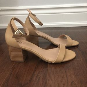 Spring Beige Mackenzie Heels (never worn)